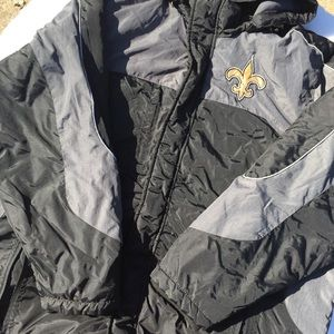 🏈 Men's New Orleans Saints Winter Coat 🌨❄️